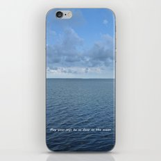 May Your Joys be as Deep as the Ocean iPhone & iPod Skin
