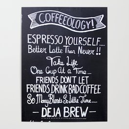 Coffeeology Poster