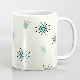 Mid Century Stars Retro Vintage Pattern Coffee Mug