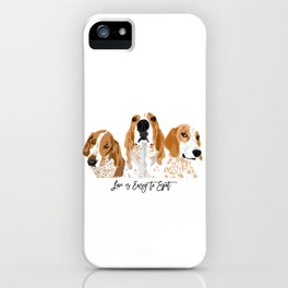 Redtick Love is Easy iPhone Case