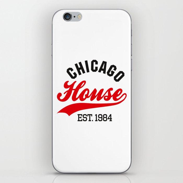 Chicago house est. 1984 Vintage DJ iPhone Skin