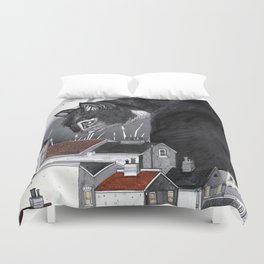 This Way Home Duvet Cover