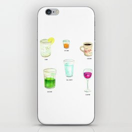 Daily Liquid Consumption iPhone Skin