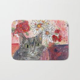 Meow Kitty Bath Mat