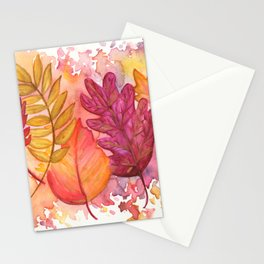 Fall Frenzy Stationery Cards