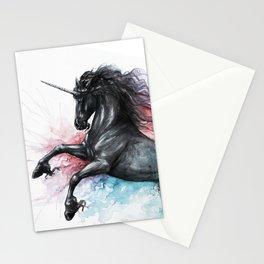 Unicorn dissolving Stationery Cards