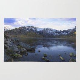 Frozen Lake Idwal Rug
