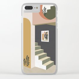 Palette 4 Clear iPhone Case