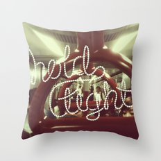 Hold tight Throw Pillow