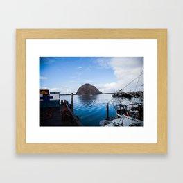Morroy Bay Framed Art Print