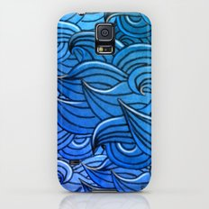 Sea waves Slim Case Galaxy S5