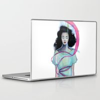 freud Laptop & iPad Skins featuring Dream in the dream by sseo_story