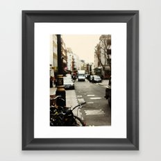 These Streets Framed Art Print