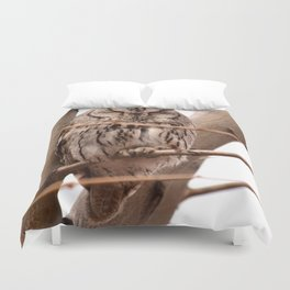 Wild Owl - Ivins, Utah Duvet Cover