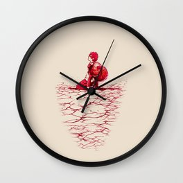 Sad Boy Wall Clock
