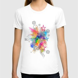 Color blobs by Nico Bielow T-shirt