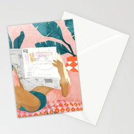 Morning News Stationery Cards