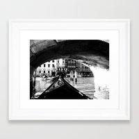 venice Framed Art Prints featuring venice by gzm_guvenc