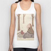 forrest Tank Tops featuring Forrest creatures by Loezelot