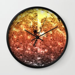 MARZ GOLDEN SURFACE Wall Clock