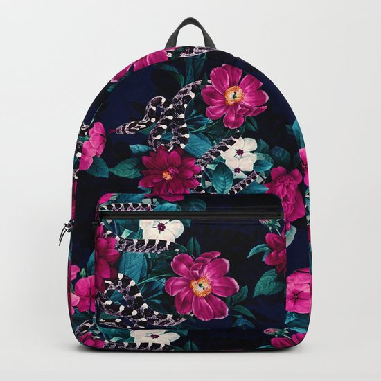 Snakes and Flowers Backpack