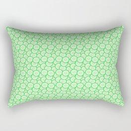 Cucumber patterned Rectangular Pillow