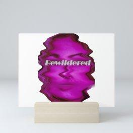 bewildered beauty Mini Art Print