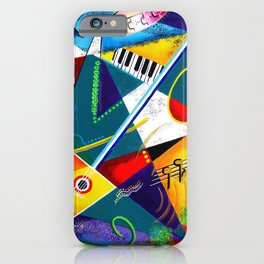 Performing Arts - Energy of Music iPhone Case