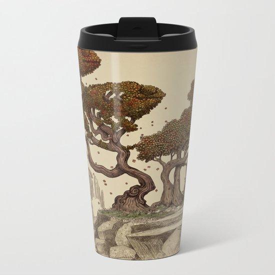 Autumn Chameleons  Metal Travel Mug