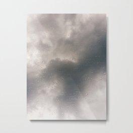 Crowded Rain Metal Print