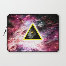 Illuminati Universe Cat  Laptop Sleeve
