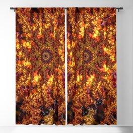 Lava Fractal Blackout Curtain