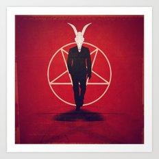 Devil Man Art Print