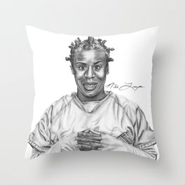 Crazy Eyes from OITNB Throw Pillow