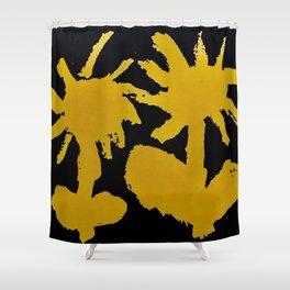fistful of dandelions Shower Curtain