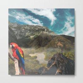 Colombian Paradise Metal Print