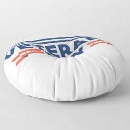 Veterans Day Commemorative Design Floor Pillow