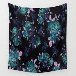 Floral | Boho | Gypsy | Hippie | Photography Backdrop | Roses Wall Tapestry