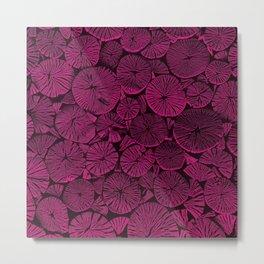 Pink Wood Metal Print