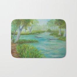 Little Manistee River MM120824a Bath Mat