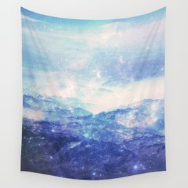 Ridges Of Time Wall Tapestry