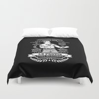 boxing Duvet Covers featuring Vintage Boxing - Black Edition by T-SIR | Oscar Postigo