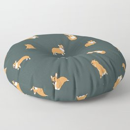 Corgi Print #2 Floor Pillow