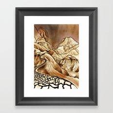 Journey Through Israel Framed Art Print