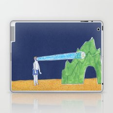 he has a LED lamp instead of face Laptop & iPad Skin