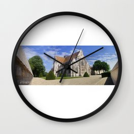 The Royal Monastery of Brou (France) Wall Clock