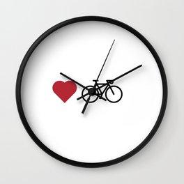 love my bike Wall Clock