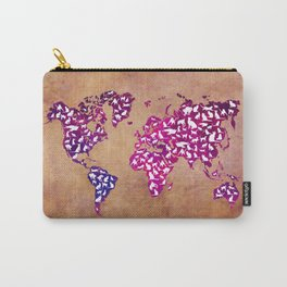 Cats world map Carry-All Pouch