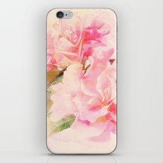 douces fleurs roses iPhone Skin
