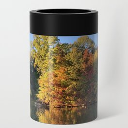 Autumn leaves Can Cooler